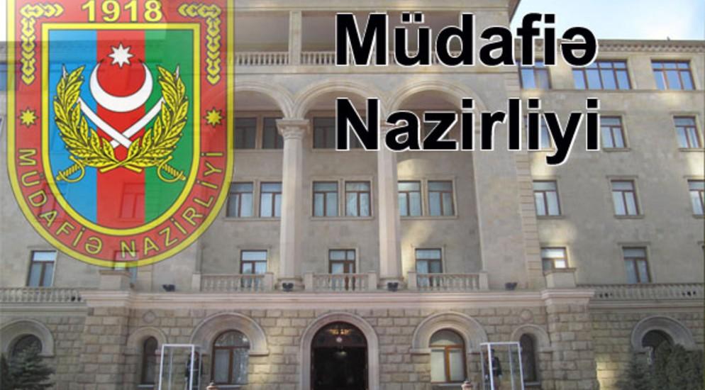 Müdafiə Nazirliyi: Noyabrın 8-i saat 07:40-dan 08:10-dək...