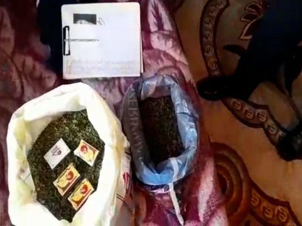 У жителя Баку обнаружено свыше пяти кг марихуаны - ВИДЕО