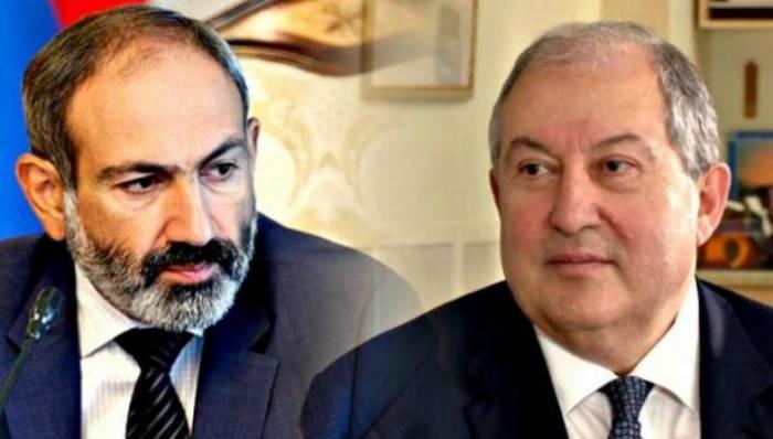 """Ermənistan hakimiyyət dəyişikliyinə gedir:""""Paşinyan Sarkisyanı da """"yolundan təmizləyir"""""""